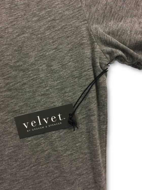 Velvet Arden T-Shirt Grey- khakisurfer.com Latest menswear designer brands added include Eton, Etro, Agave Denim, Pal Zileri, Circle of Gentlemen, Ralph Lauren, Scotch and Soda, Hugo Boss, Armani Jeans, Armani Collezioni.