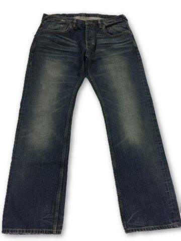 Natural Selection Smith Jeans in Blue- khakisurfer.com Latest menswear designer brands added include Eton, Etro, Agave Denim, Pal Zileri, Circle of Gentlemen, Ralph Lauren, Scotch and Soda, Hugo Boss, Armani Jeans, Armani Collezioni.