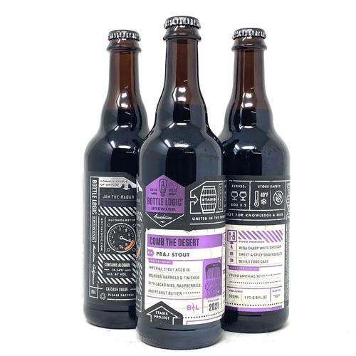 BOTTLE LOGIC COMB THE DESERT PB&J STOUT