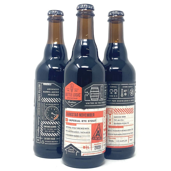 BOTTLE LOGIC DARK STAR NOVEMBER RUSSIAN IMPERIAL STOUT 2020