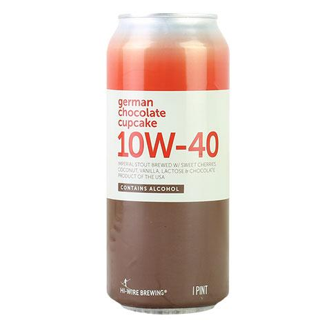 HI-WIRE 10W-40 GERMAN CHOCOLATE CUPCAKE STOUT