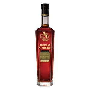 THOMAS S. MOORE STRAIGHT BOURBON FINISHED IN CABERNET SAUVIGNON CASKS