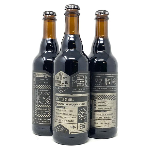 BOTTLE LOGIC SCATTER SIGNAL IMPERIAL MOCHA STOUT 2020