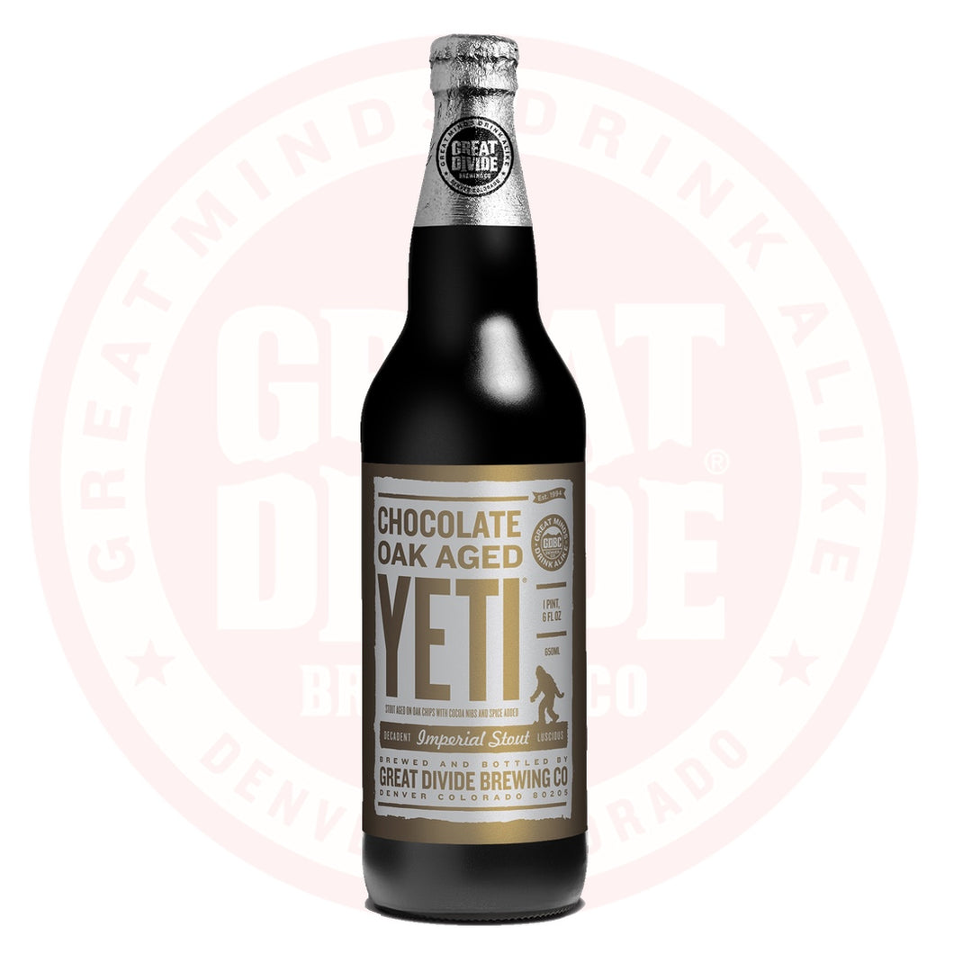 Chocolate Oak Aged Yeti Imperial Stout