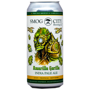 SMOG CITY AMARILLA GORILLA WEST COAST IPA