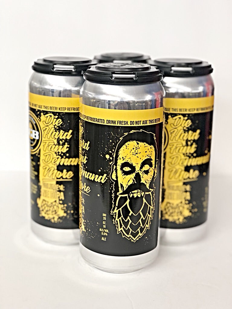 LCB (LOCAL CRAFT BEER) DIE HARD FANS DEMAND MORE DOUBLE HAZY IPA