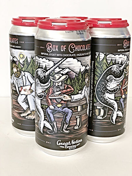 GREAT NOTION x CELLARMAKER x MODERN TIMES BOX OF CHOCOLATES IMPERIAL STOUT