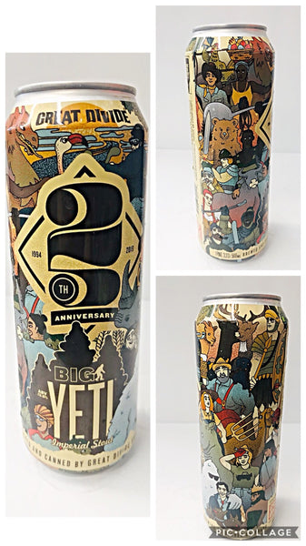 GREAT DIVIDE 25TH ANNIVERSARY BIG YETI IMPERIAL STOUT