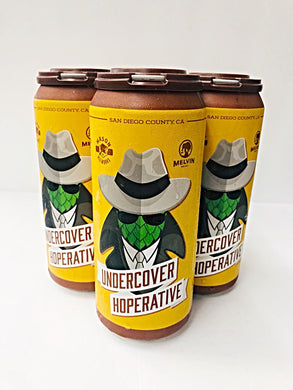 MASON/MELVIN COLLABORATION UNDERCOVER HOPERATIVE IPA