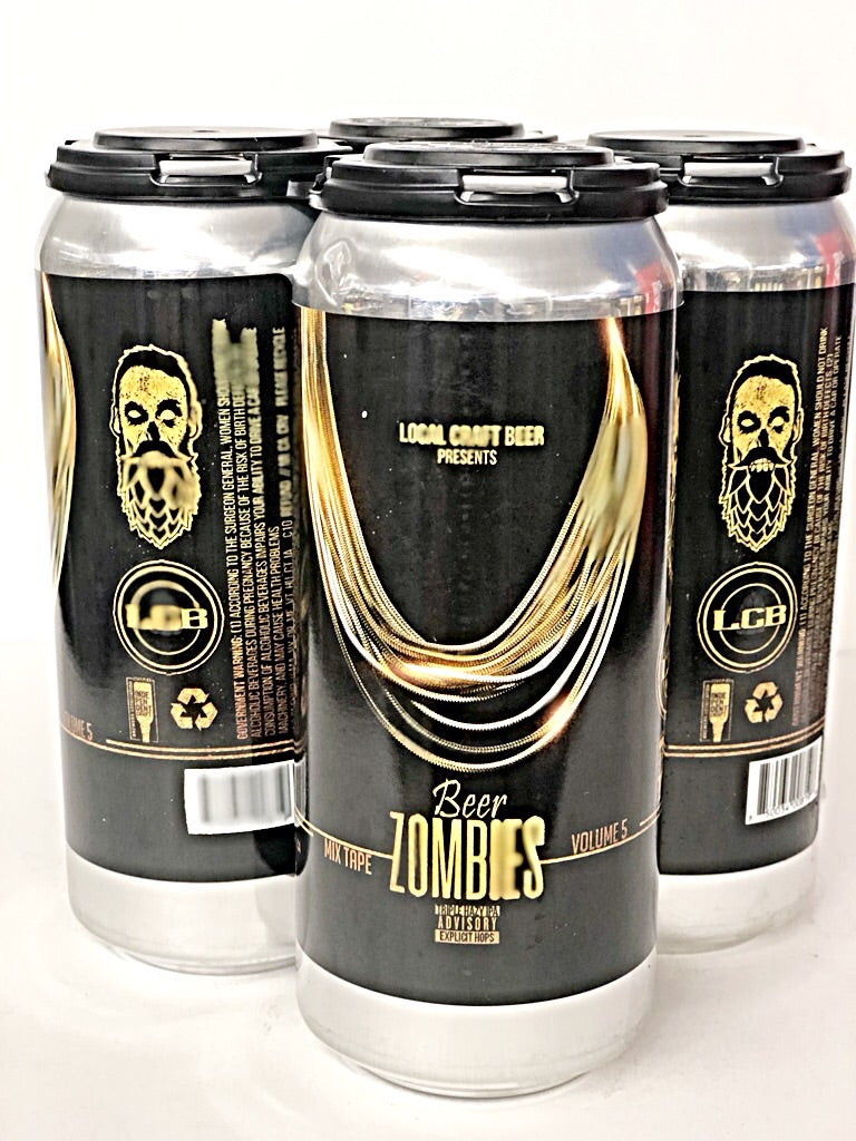 LCB (LOCAL CRAFT BEER) x BEER ZOMBIES MIX TAPE VOLUME 5 HAZY TRIPLE IPA