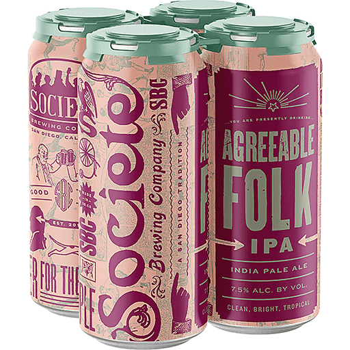 SOCIETE AGREEABLE FOLK IPA