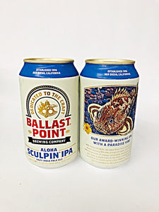 BALLAST POINT ALOHA HAZY SCULPIN IPA