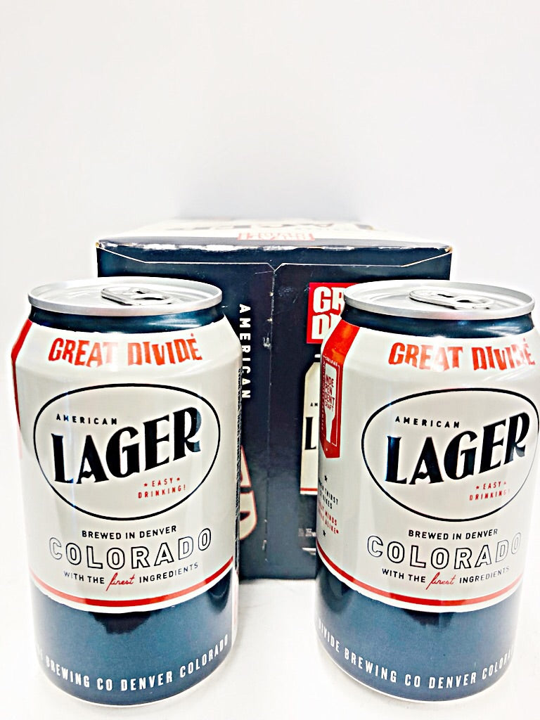GREAT DIVIDE AMERICAN LAGER