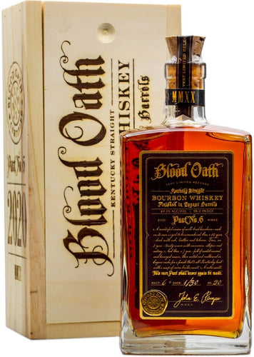 BLOOD OATH PACT 6 BOURBON