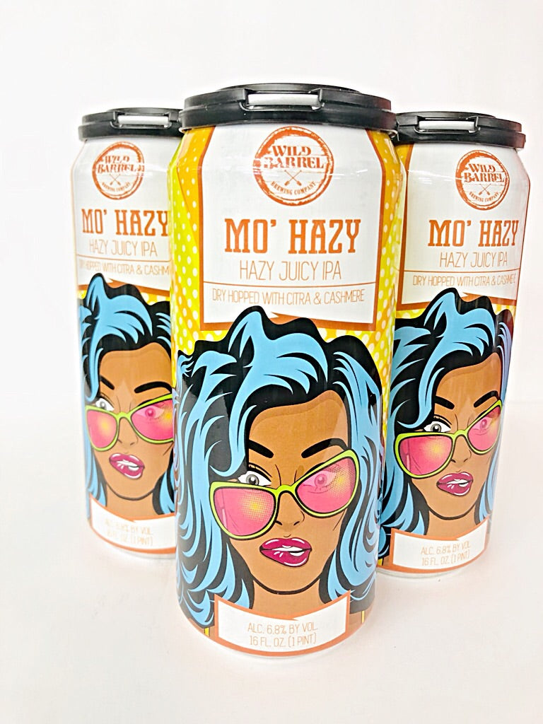 WILD BARREL MO' HAZY IPA