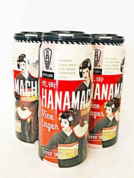BOTTLE LOGIC HANAMACHI RICE LAGER