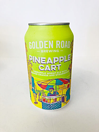 GOLDEN ROAD PINEAPPLE CART WHEAT ALE