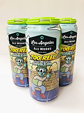 LOS ANGELES ALE WORKS TOO REEL WEST COAST DOUBLE IPA