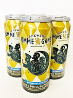 OMMEGANG THREE PHILOSOPHERS QUADRUPLE ALE BLUEBERRY COFFEE