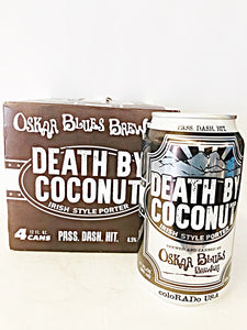 OSKAR BLUES DEATH BY COCONUT IRISH STYLE PORTER
