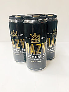 LORD HOBO HAZY BOOMSAUCE DOUBLE IPA