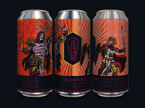 BOTTLE LOGIC ORDER OF COMBAT WEST COAST IPA