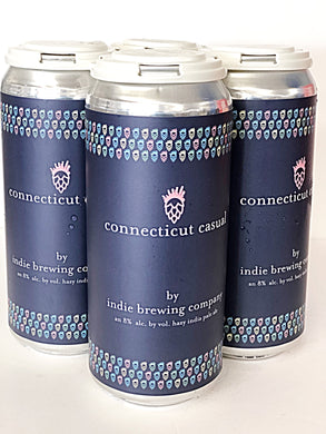 INDIE BREWING CONNECTICUT CASUAL DOUBLE HAZY IPA