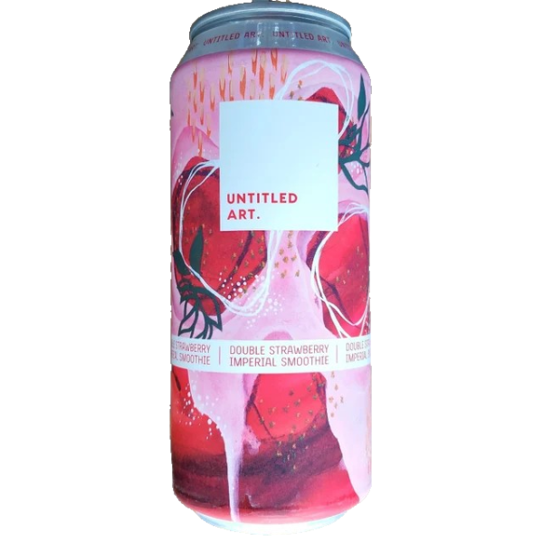 UNTITLED ART DOUBLE STRAWBERRY IMPERIAL SMOOTHIE