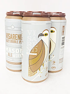 MASON ALE WORKS / HORUS COLLABORATION VISERAND HAZY DOUBLE IPA