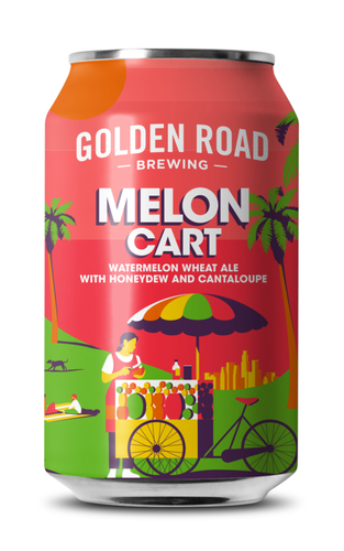 GOLDEN ROAD MELON CART WHEAT ALE