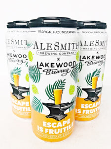 ALESMITH x LAKEWOOD ESCAPE IS FRUITILE HAZY IPA