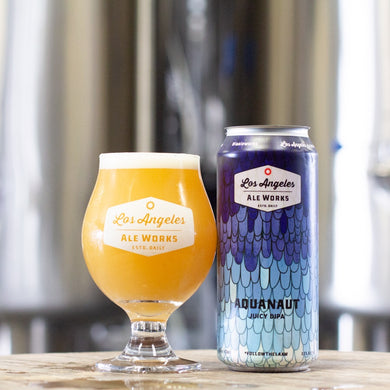 LA ALE WORKS AQUANAUT JUICY DOUBLE IPA