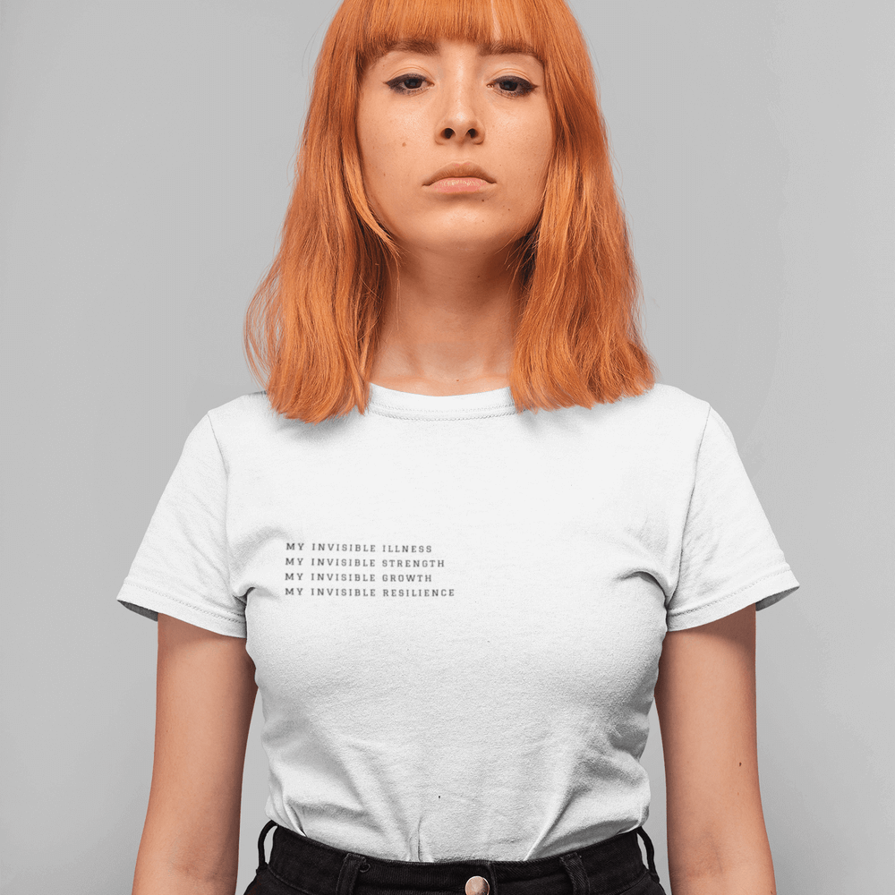 MY INVISIBLE ILLNESS WHITE TEE