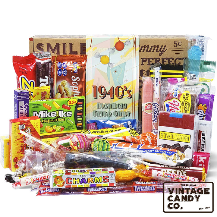 1940's Retro Candy Gift Box