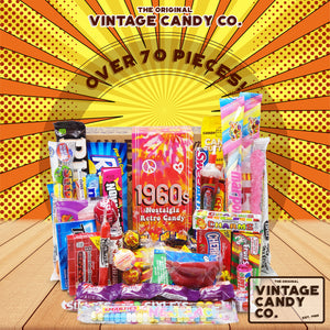 1960's Retro Candy Gift Box