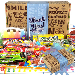 Thank You Gift Basket Box