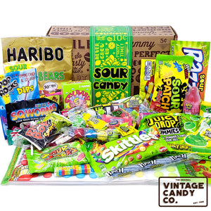 Sour Candy Assortment Gift Box