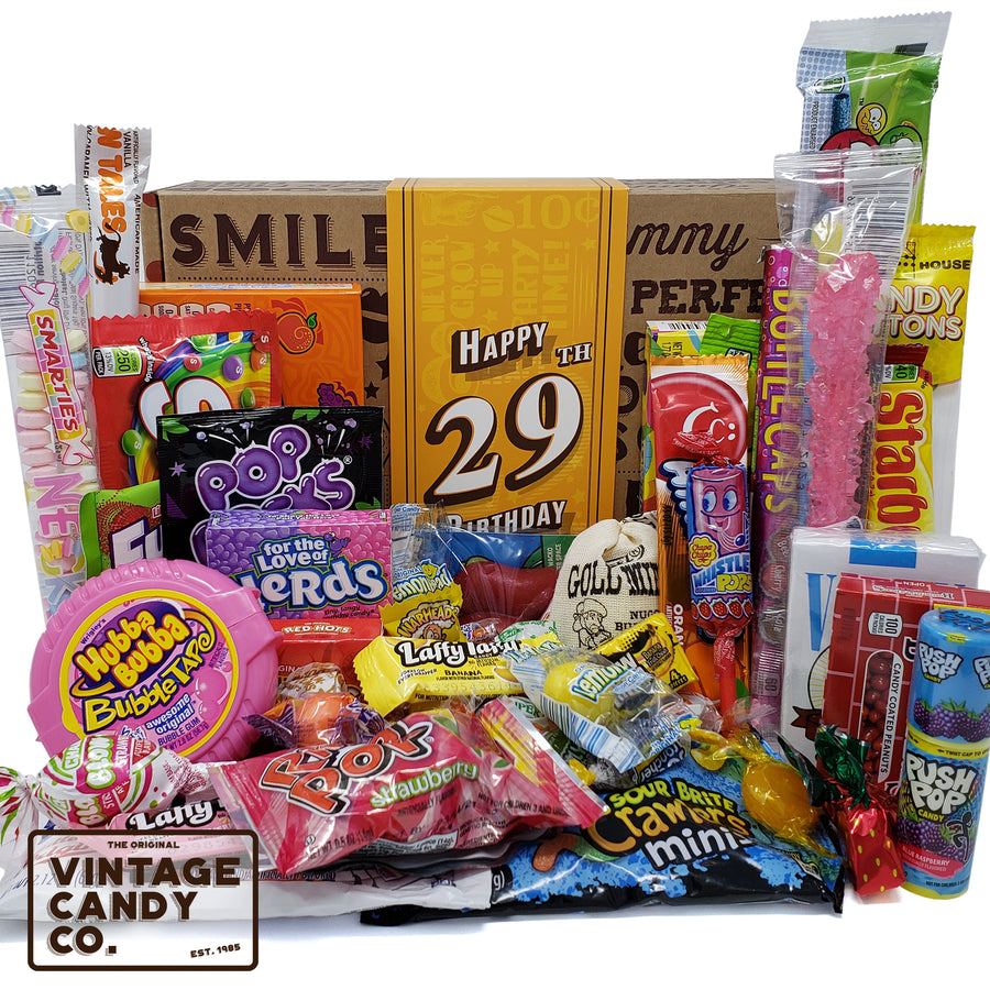 29th Birthday Retro Candy Gift Box