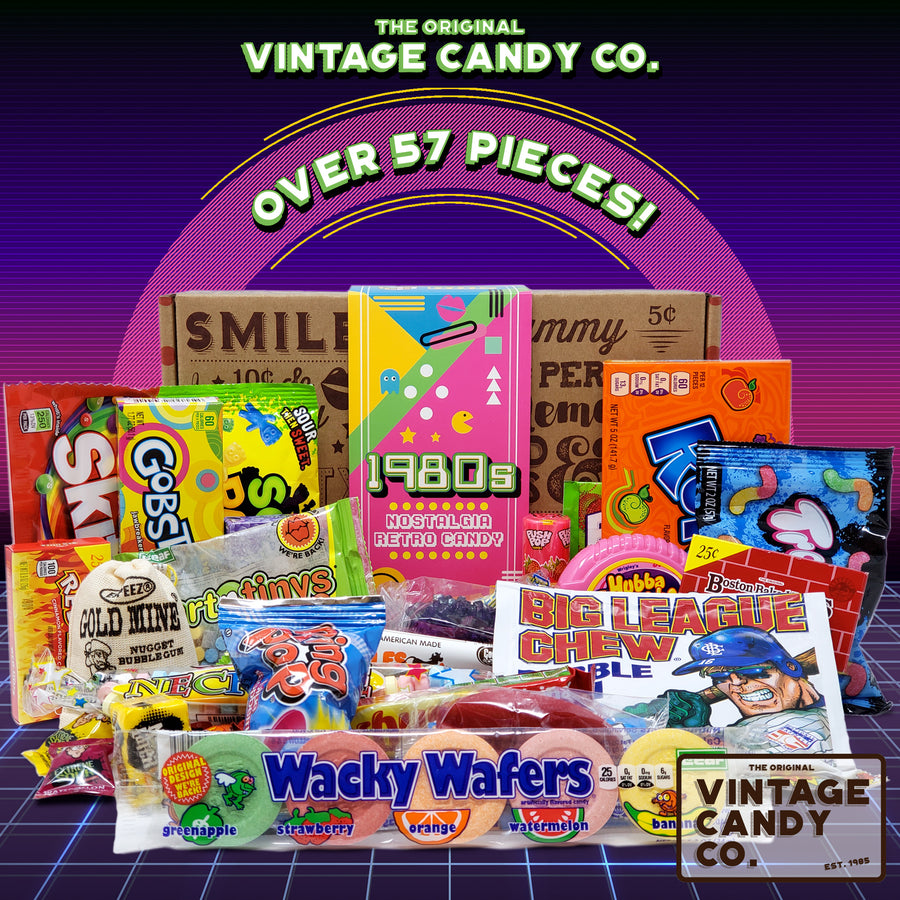 1980's Retro Candy Gift Box