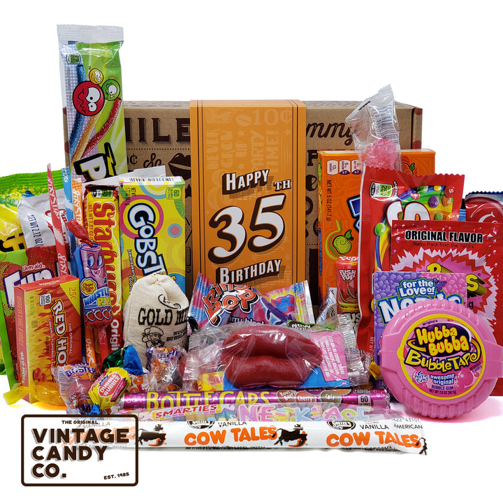 35th Birthday Retro Candy Gift Box