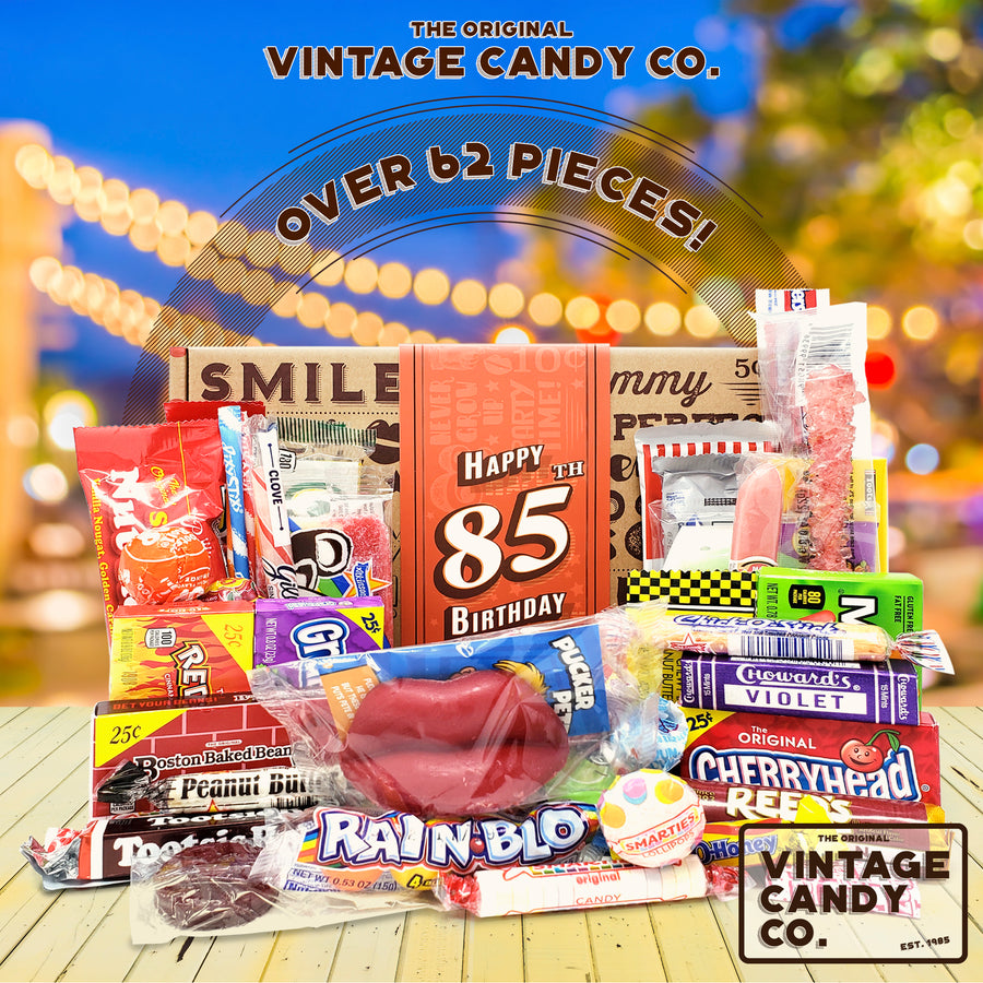 85th Birthday Retro Candy Gift Box