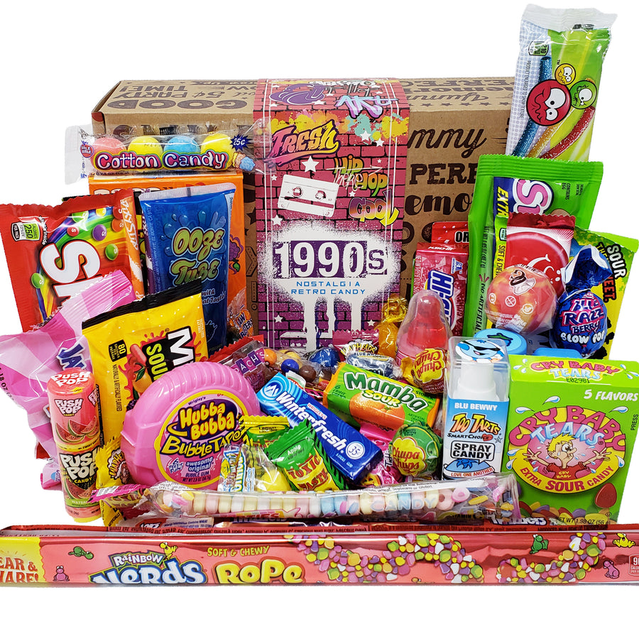 1990's Retro Candy Gift Box