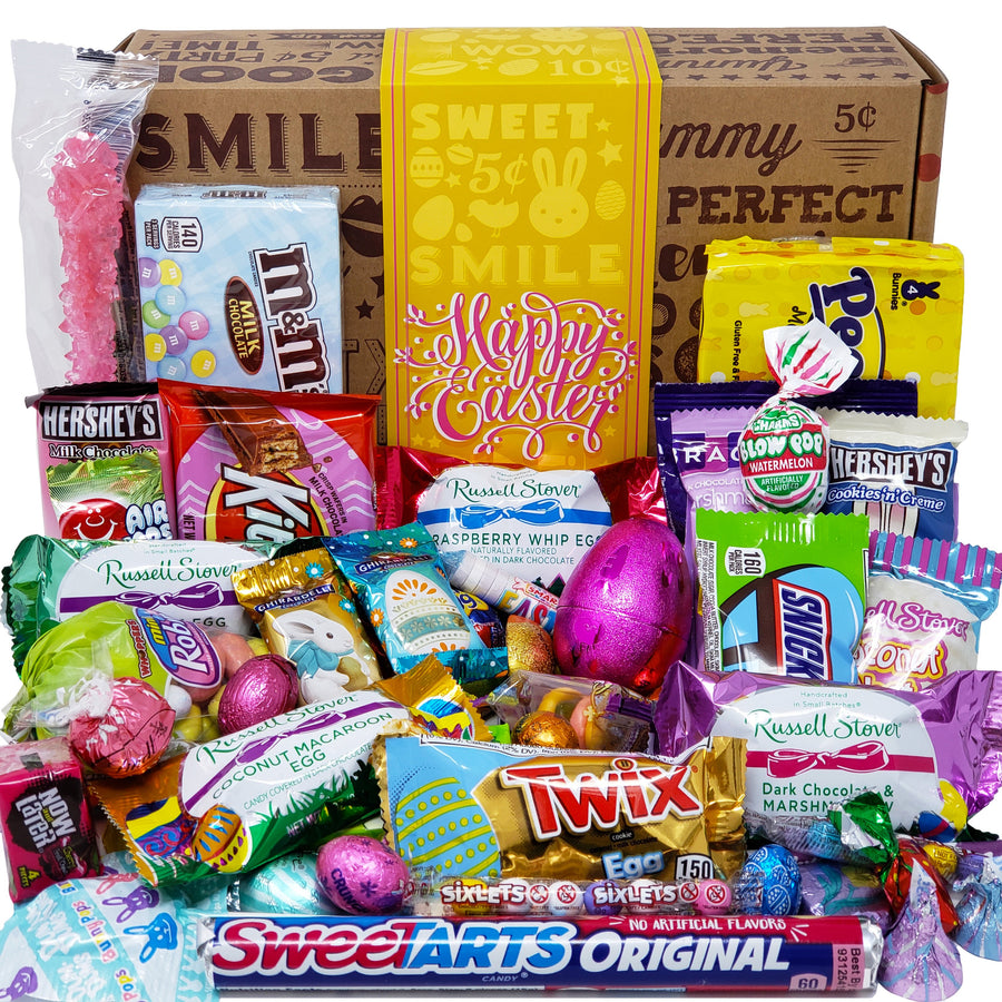 Happy Easter Candy Care Package for Girls and Boys