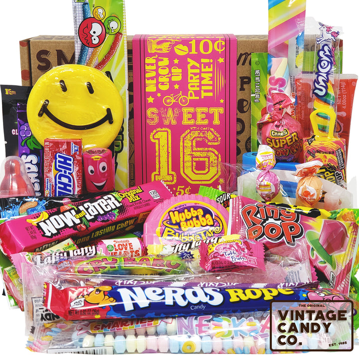 Sweet 16 Birthday Candy Gift Box