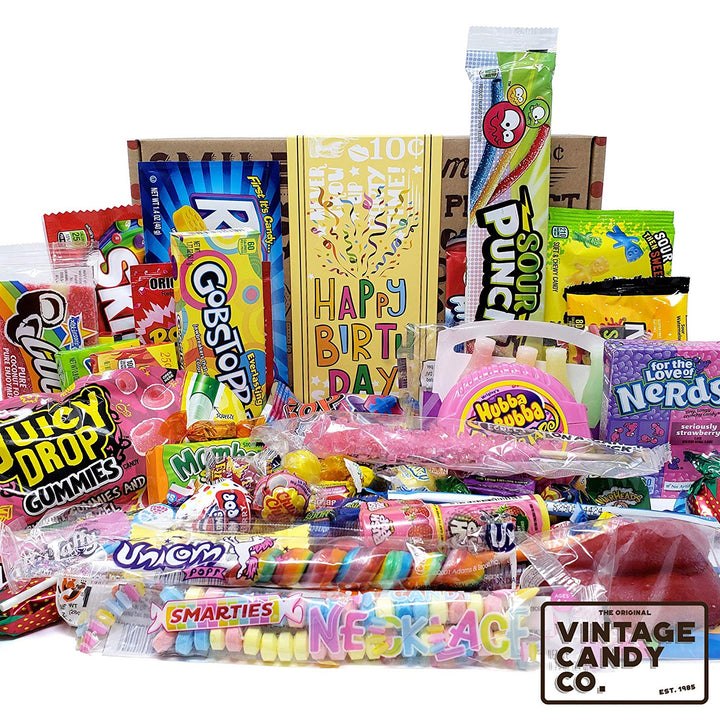 Happy Birthday Candy Care Package For Birthday Girl or Boy