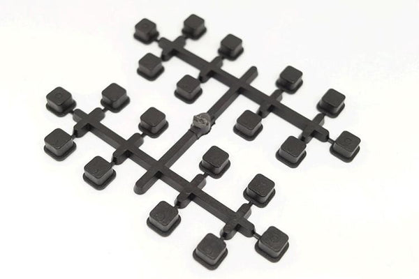 21116-B Suspension Pin Bushings Black