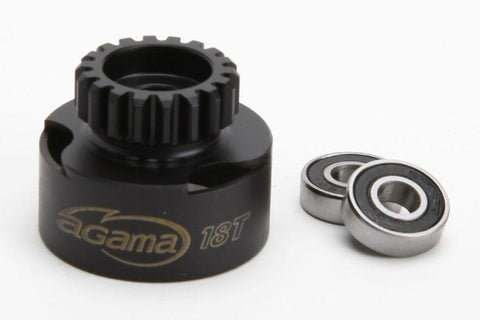 8018 Clutch bell 18T w/bearings