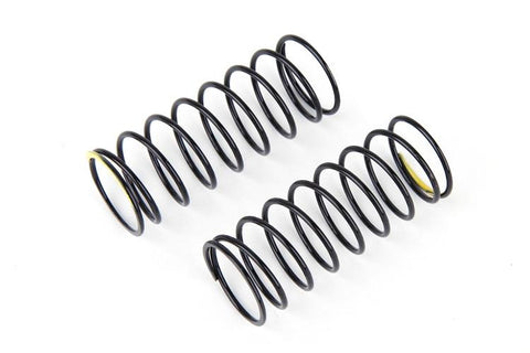 9690 Front Shock Spring Soft (Black/Yellow) (2)
