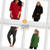JunoActive plus size women's clothing image of different JunoActive products with logo in the center