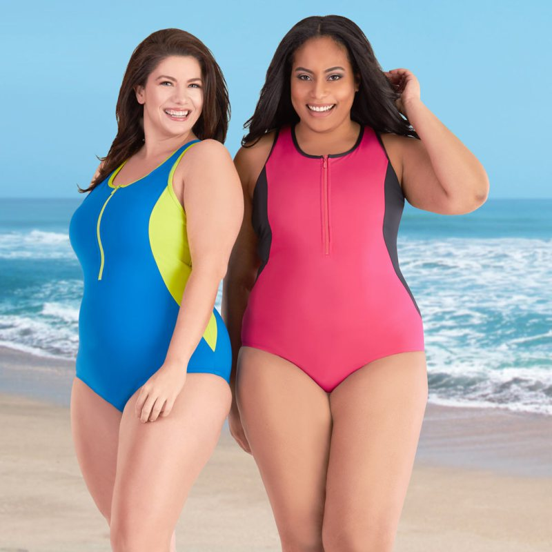 JunoActive Spring 2017 Plus Size Swimsuits Have Arrived!